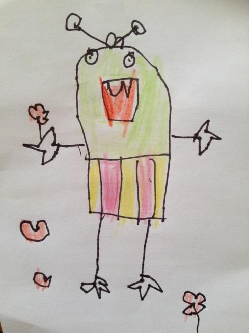 Finley Stapleton-French Age 6 'Monster Girl'